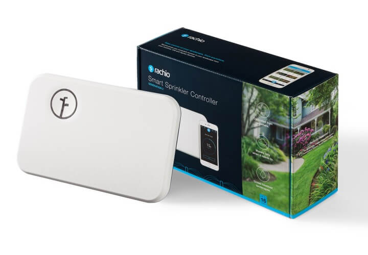 Rachio Generation 2 controller, with closed box.