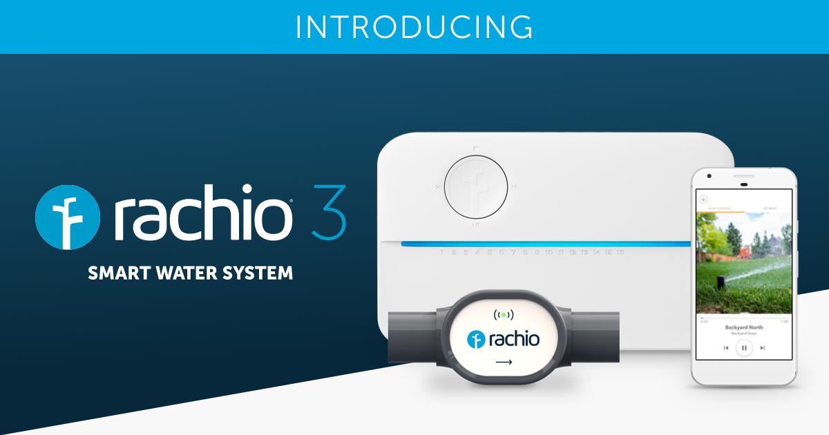 Rachio 3 Sprinkler Controller & Wireless Flow Meter Smart